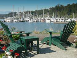Overlook at the Port Ludlow marina