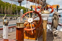 Wheel of Zodiac schooner