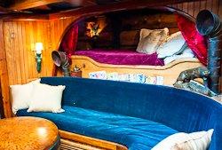 Schooner Ragland cabin interior