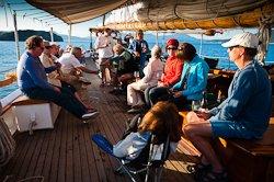 Zodiac wine cruise evening social