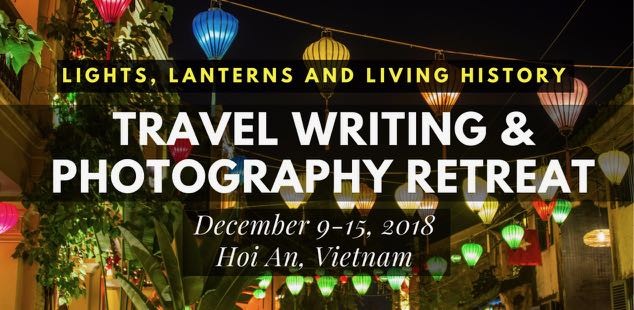travel writing & photography retreat in hoi an, vietnam